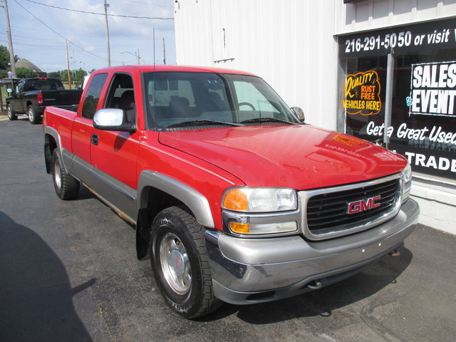 auto xchange auto banx used 2002 red gmc sierra 1500 for sale in south euclid oh 44121 auto xchange auto banx