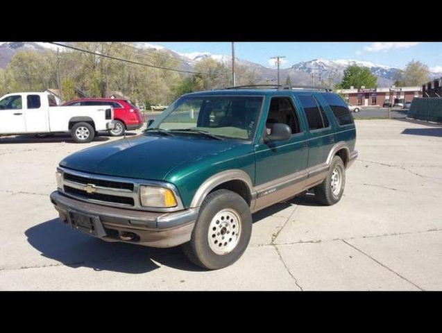 auto realm used 1996 green chevrolet blazer for sale in clearfield ut 84015 auto realm