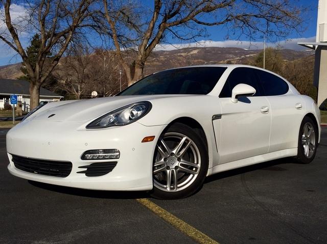 Auto Realm Used 2012 White Porsche Panamera For Sale In