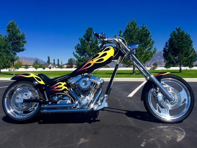 Auto Realm | Used 2003 Black American Ironhorse Texas