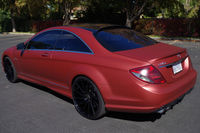 Auto Realm | Used 2010 Red Mercedes-Benz CL-Class For Sale