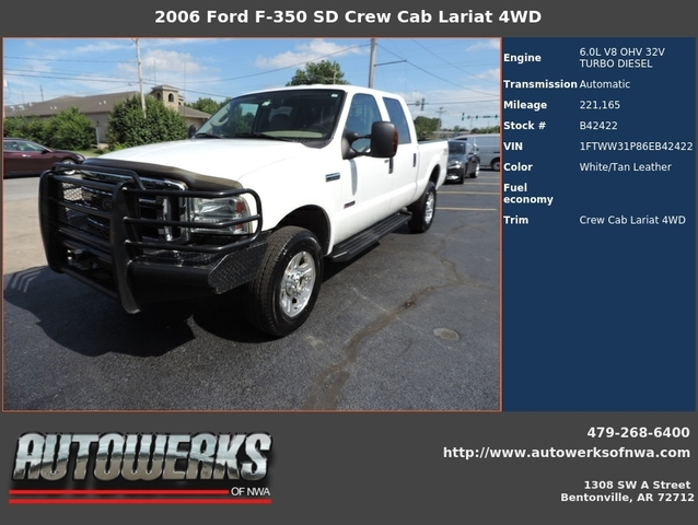 2006 ford f350 dually mpg