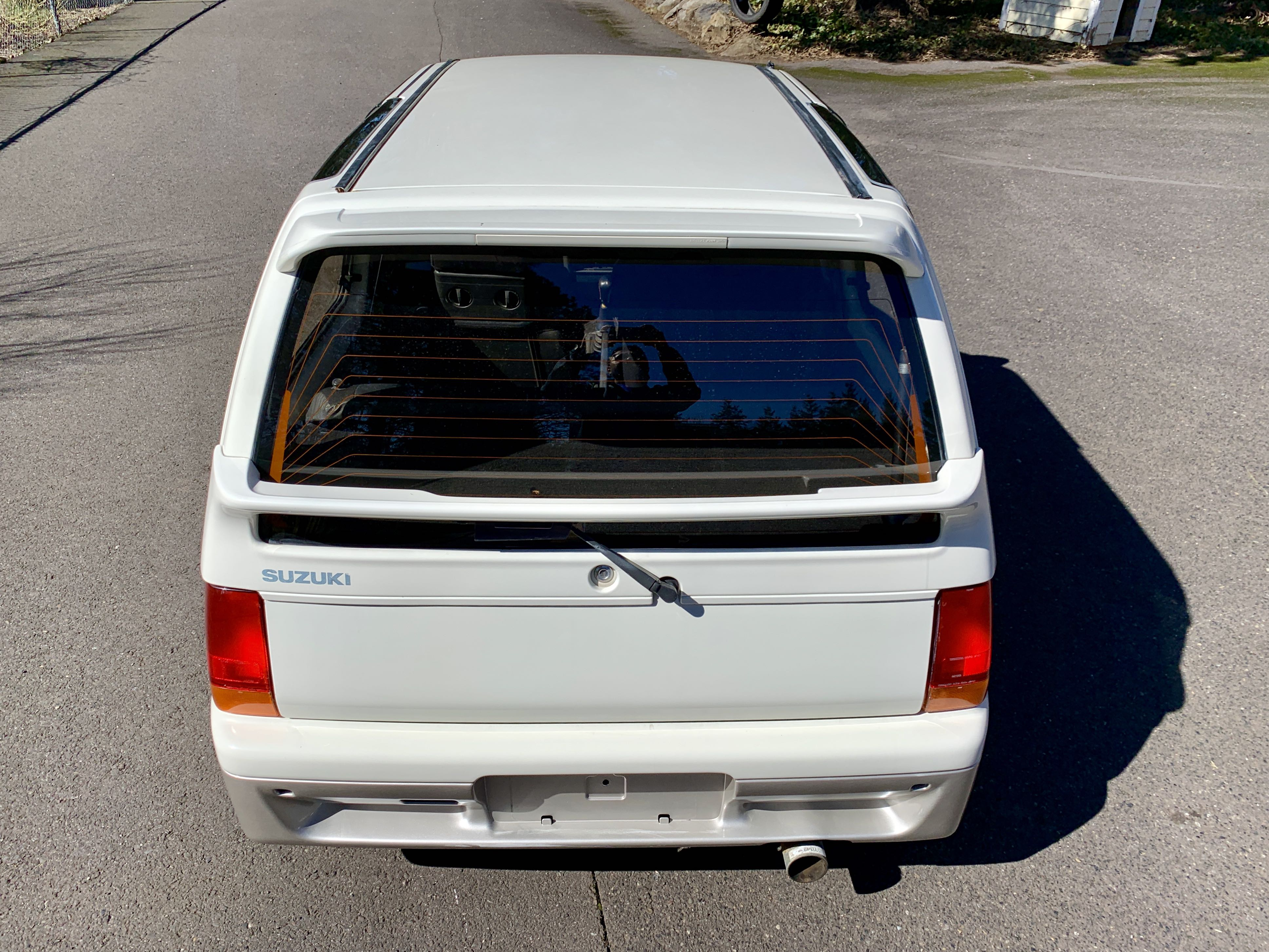 Boeki Usa Used 1991 White Suzuki Alto Works Turbo