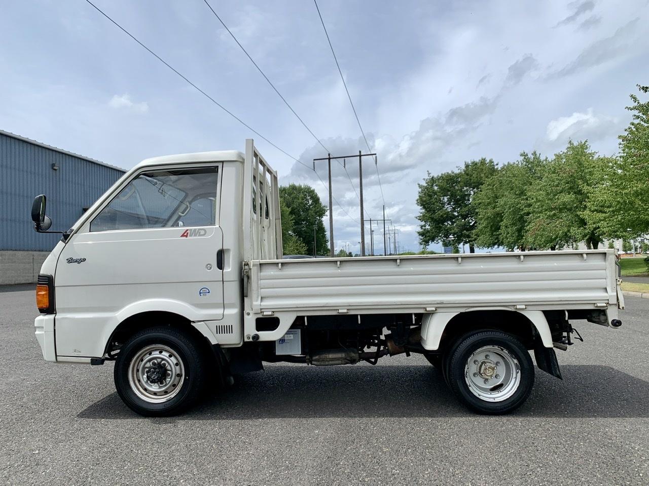 Boeki USA   Used 1993 White Mazda Bongo Dually 1.8L For ...